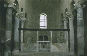 Sta. Maria delle Grazia: Chorschranke, Gardo