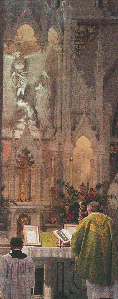 Te igitur - Beginn das Hochgebets und der Kanonstille